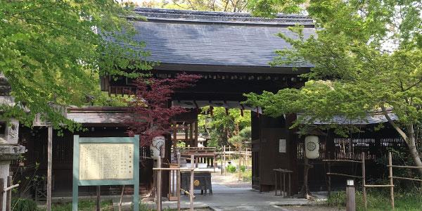結婚式プラン 梨木神社様風景